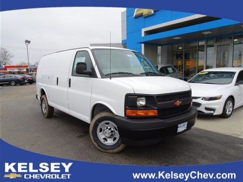 New 2017 Chevrolet Express 3500 Work Van RWD 3D Cargo Van