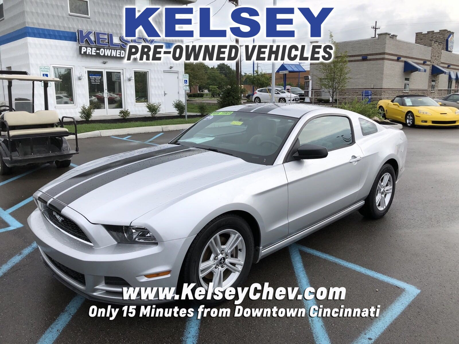 Pre owned 2014 ford mustang v6